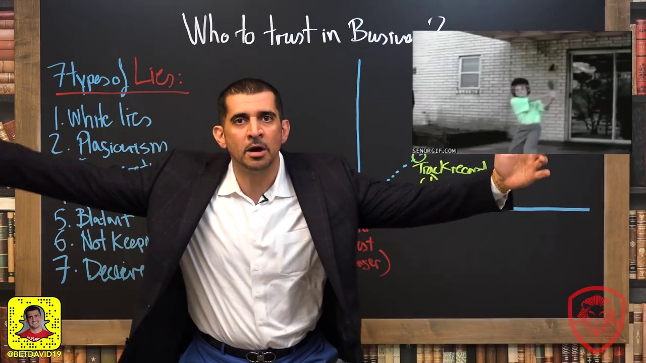 Who Should You Trust in Business