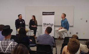Frank & Emily Valcarcel (Cuttlesoft) at Startup Grind Tallahassee