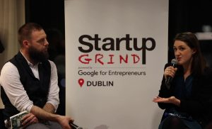 Iseult Ward (Founder FoodCloud) at Startup Grind Dublin