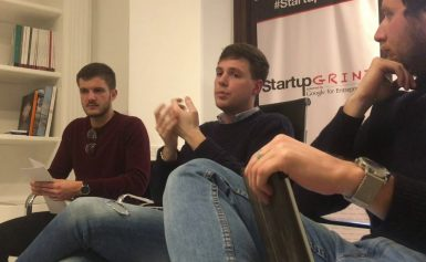 Startup Grind Rome Hosts Giacomo Bertoldi